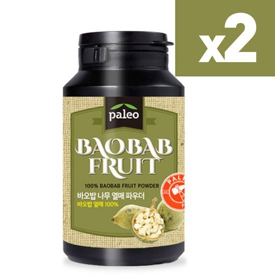 팔레오 바오밥나무열매가루 파우더 120g 2통