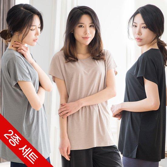 [1+1] 여성 디노아이스 롱티셔츠 택1