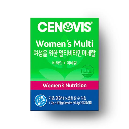 세노비스 여성용 멀티비타민미네랄 60캡슐/60일분