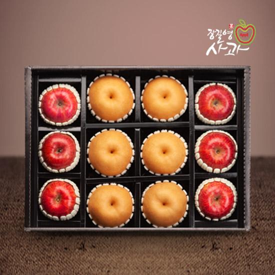 사과(6과)+배(6과) GOLD 혼합 선물세트 특대과