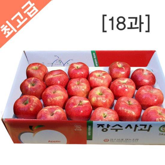 [長水청정마을] 장수사과 5kg(18과)
