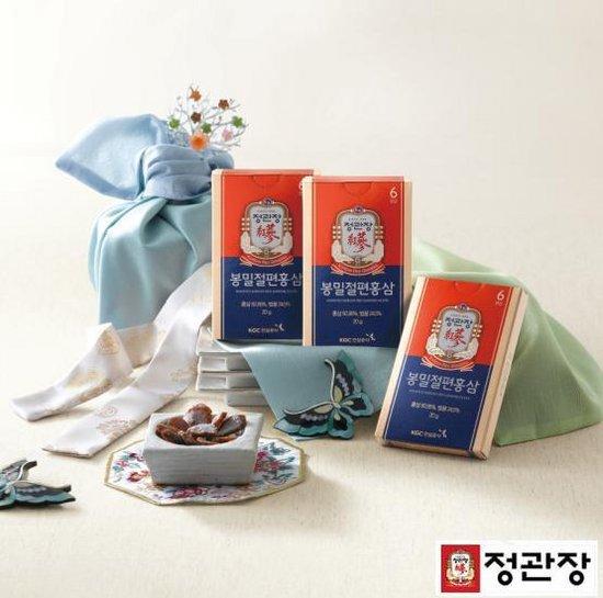 정관장 (신)봉밀절편홍삼 6포(20gx6) 3박스