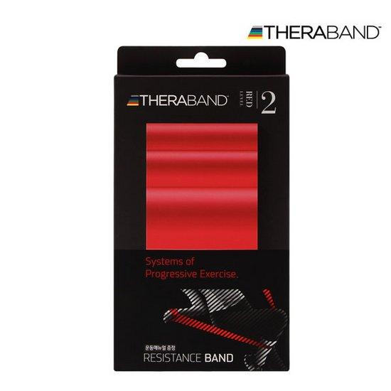 세라밴드 탄력밴드 빨간색 (12.5cm * 2m)