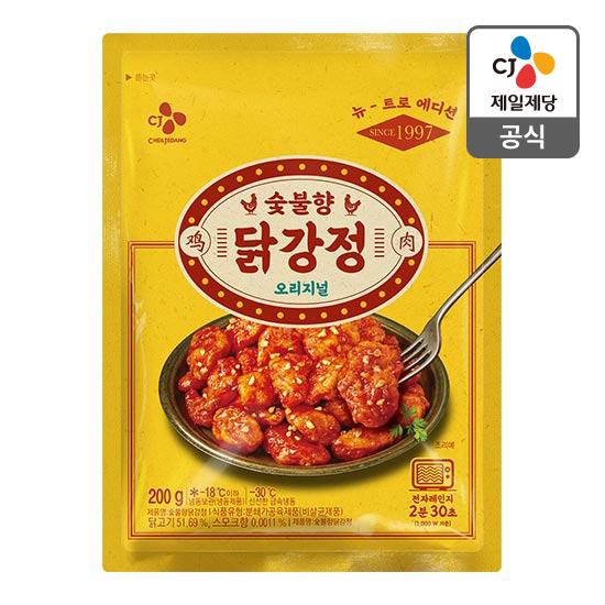 CJ 숯불 닭강정 200g