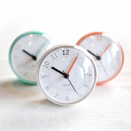 mooas Macaron Waterproof Clock 무아스 마카롱 욕실방수시계