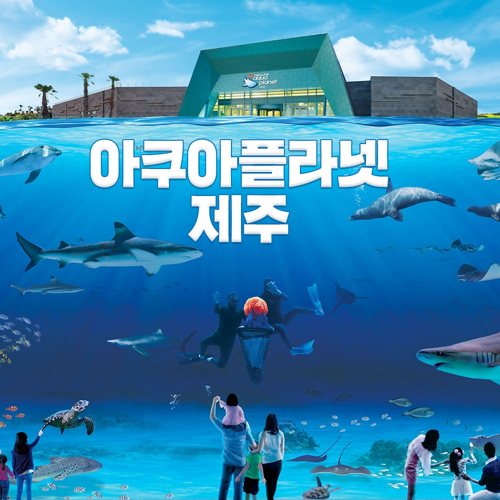 한화 제주 아쿠아플라넷 종합권/아쿠아리움권