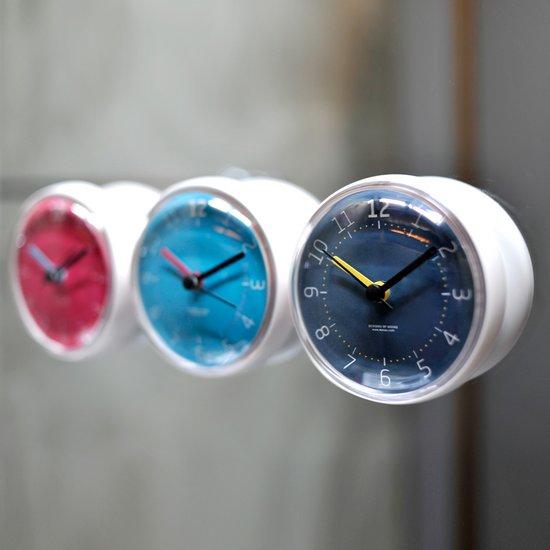 무아스 욕실시계 마카롱 Vivid - 흡착시계,화장실시계,방수시계