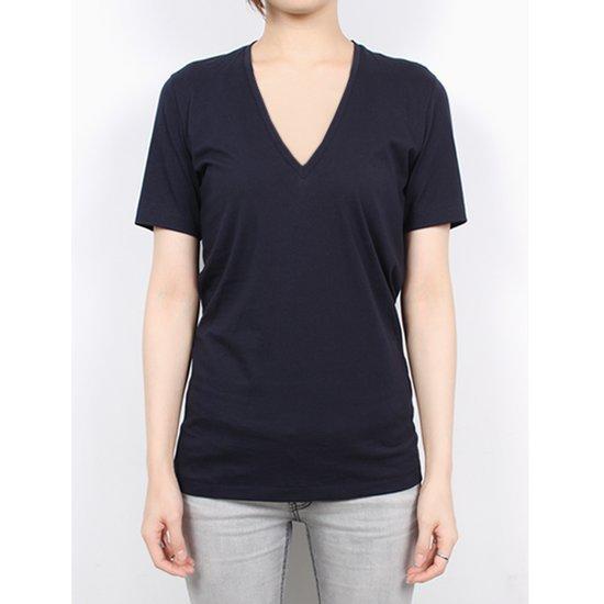 아크네 15I146 833 브이넥 CHARY 티셔츠 QR인증