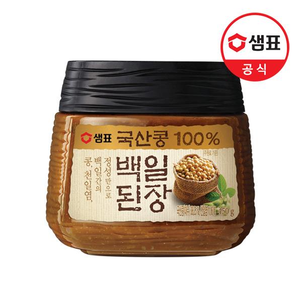 [샘표] 국산콩 백일된장 450g