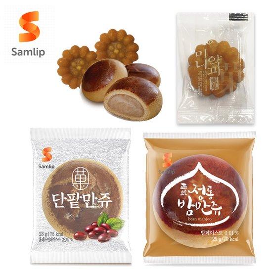 [1+1]삼립식품 밤만쥬/약과/단팥만쥬 택1