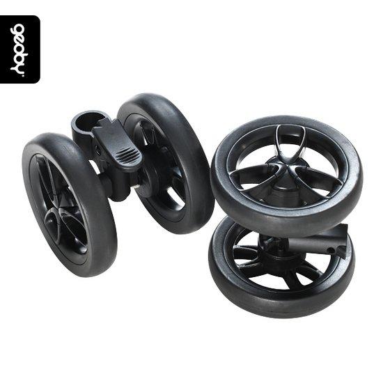 [지오비&어비니] 에어유모차 스페어 휠세트/공용 휠세트/자이어/플러리LT