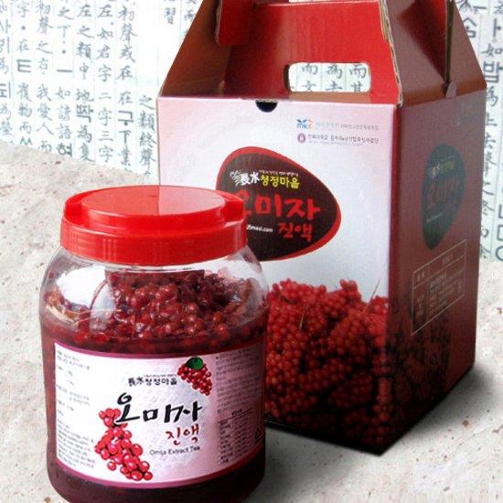 [長水청정마을] 생오미자 액기스 4.5kg