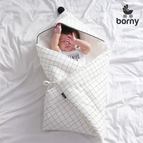 [Borny]보니 겉싸개 아기겉싸개 면겉싸개