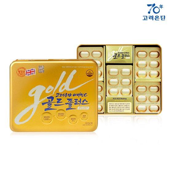 [최신상]고려은단 비타민C 골드플러스 240정+240정+쇼핑백2장