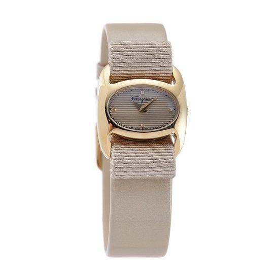 [페라가모] Women FIE980016 Varina Beige Watch
