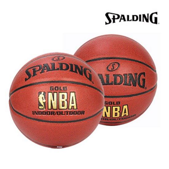 스팔딩 NBA 골드 농구공 74-559Z 7호