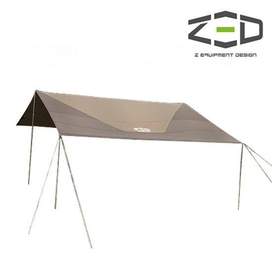 [ZED] 제드 렉타 타프 세트 - 강한 햇빛과 자외선을 차단