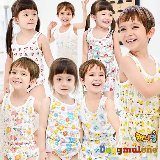[동물원]무형광유아동속옷모음전 런닝 팬티 드로즈