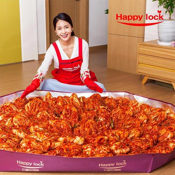 [식품용지 인증] 해피락 김장매트 A형