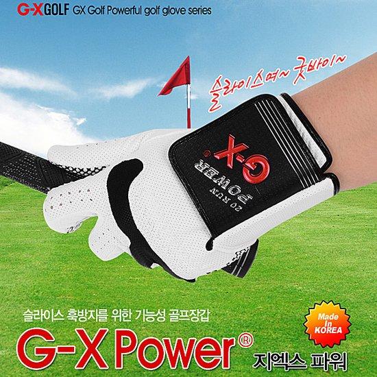 지엑스골프 골프장갑 GX-POWER-3장/남성/손목꺾임방지