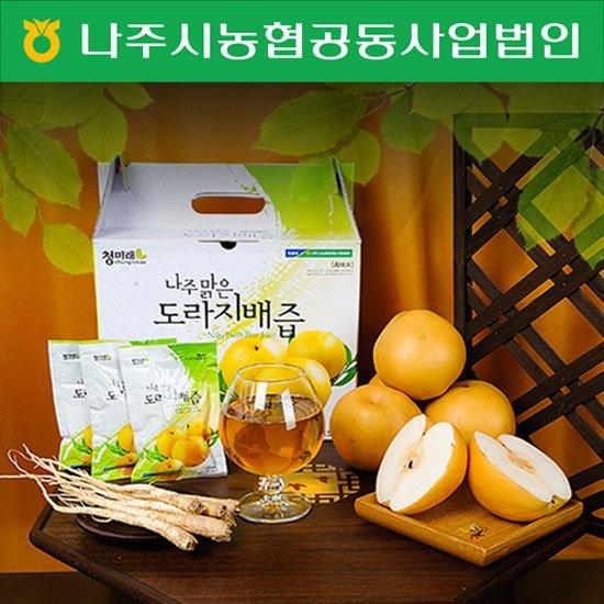 나주맑은 도라지배즙 선물세트 50포/100포