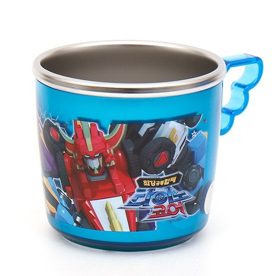 K0096 다이노코어 컵 날개 논슬립스텐-YP6093 아동물컵 다
