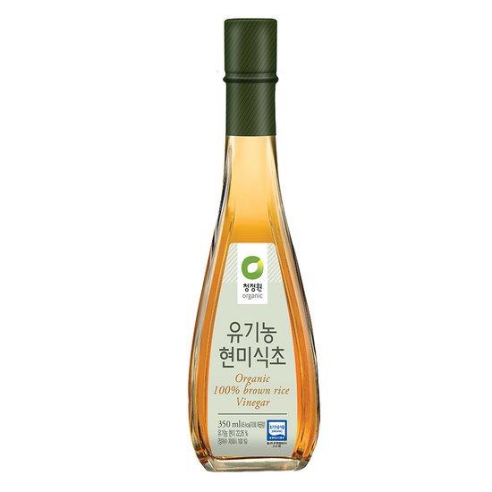 청정원 유기농 현미식초 350ml