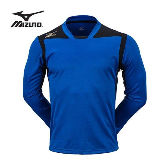미즈노 게임 긴팔 셔츠(7K1226) 블루 티셔츠 유니폼