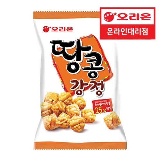 오리온 땅콩강정 80g