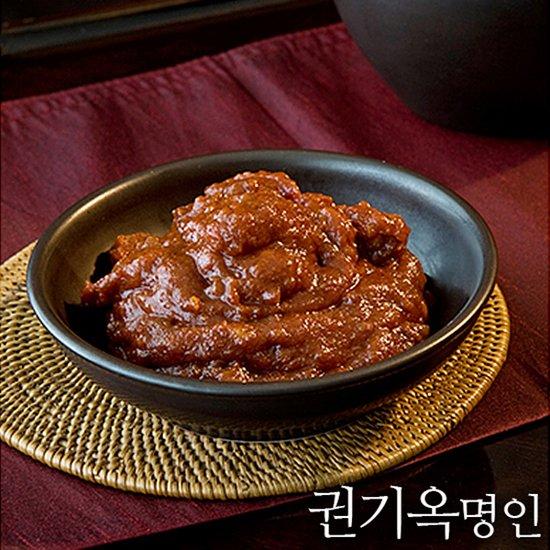 [식품명인 권기옥]꽁보리 막장 450g