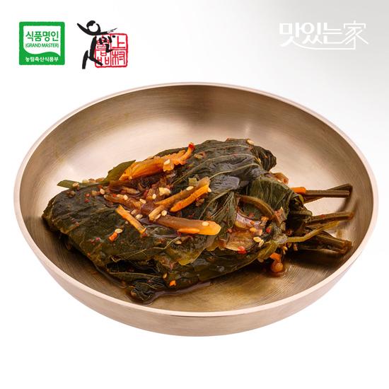 [식품명인 권기옥]깻잎장아찌 400g