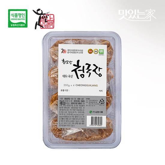 [식품명인 권기옥]황토방 청국장 800g