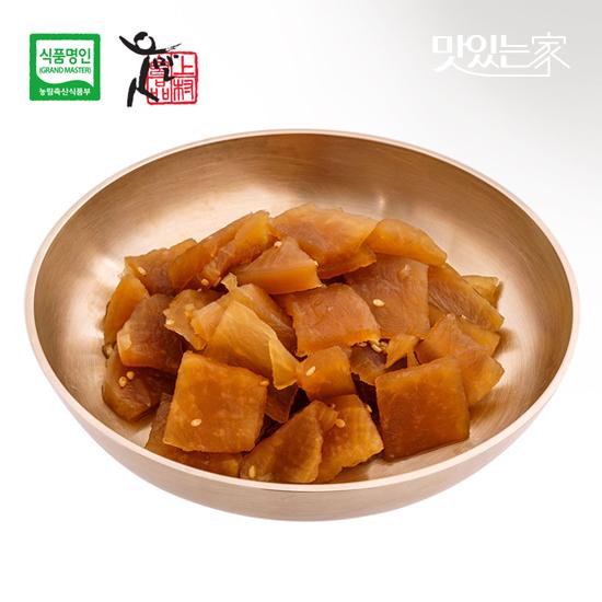 [식품명인 권기옥]무장아찌 400g