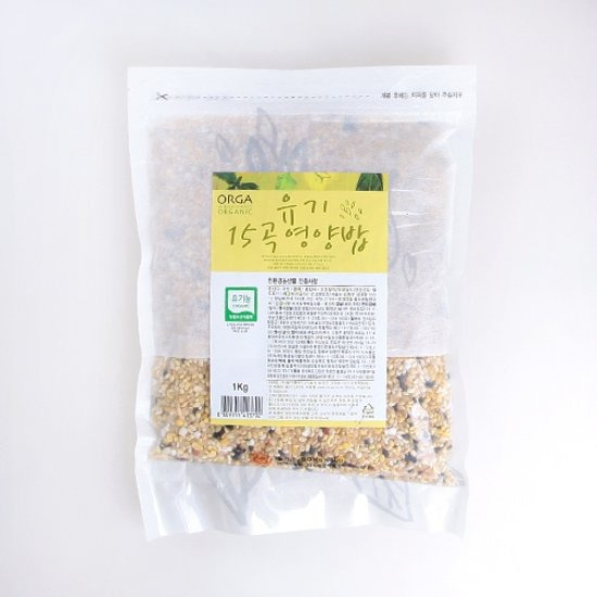 ORGA 15곡 영양밥 [유기농,1kg]