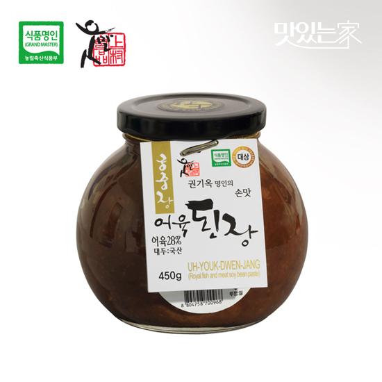 [식품명인 권기옥]궁중 어육된장 450g