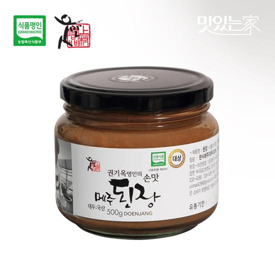 [식품명인 권기옥]메주된장 500g