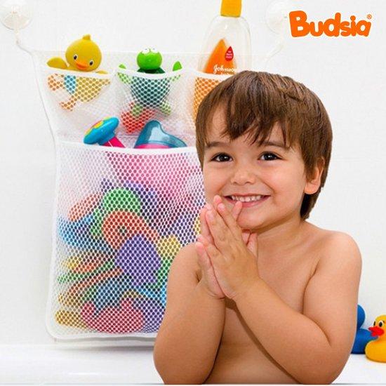 [버드시아] 욕실그물망 목욕정리함/정리망/장난감정리함