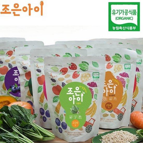 [리얼맘마] 소중한 우리아가에 유기농 쌀과자 제안