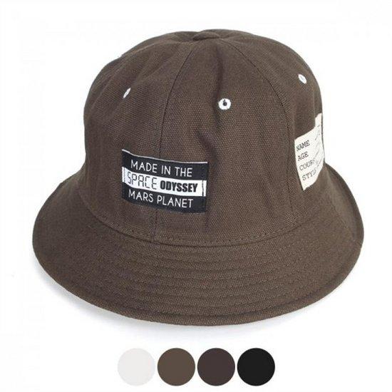 [오가게/디꾸보]스페이스 플래닛 버킷햇 벙거지 모자 AC868