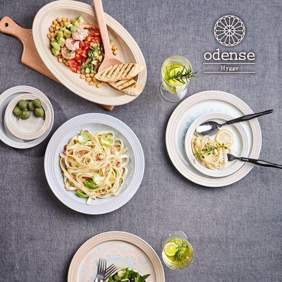 [카]오덴세 휘게 양식 디너세트 4인조