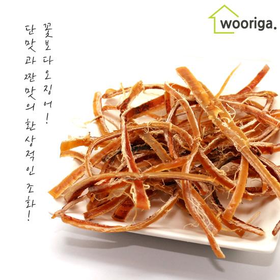 [우리가스토리] 꽃보다오징어 오리지날대용량 260g×1봉