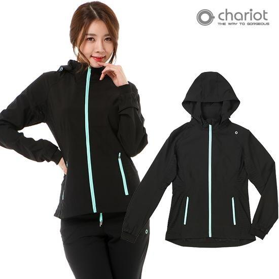 [채리어트]여성 에어 트랙수트 자켓