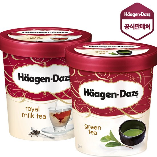 하겐다즈 아이스크림 파인트 473ml X 2개