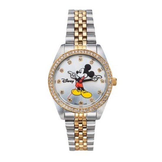 텐바이텐 스위스밀리터리 디즈니 미키마우스 남여공용 메탈 손목시계 OW070DY