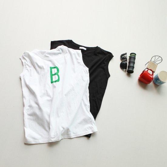 [스타일빵빵]노랫말 B나시 티셔츠