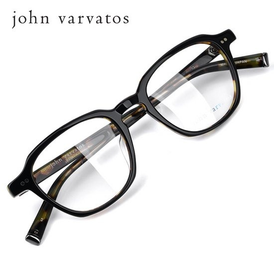 존바바토스 명품 뿔테 안경 V204UF-BLACK-TORTOISE 50