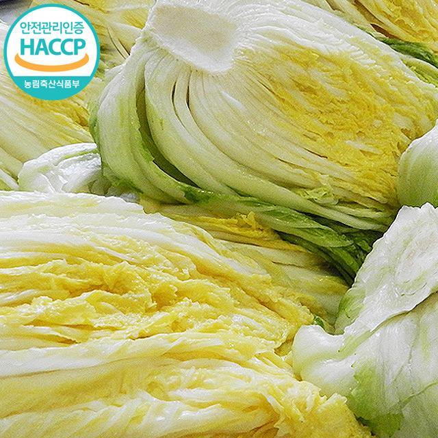 [더조은푸드] HACCP인증 강원도 고랭지 절임배추 22kg
