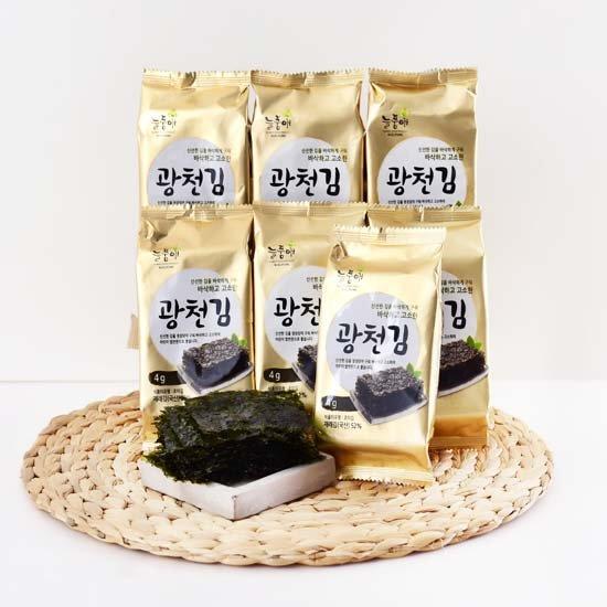늘품애 황금빛 광천도시락김 4gX50봉