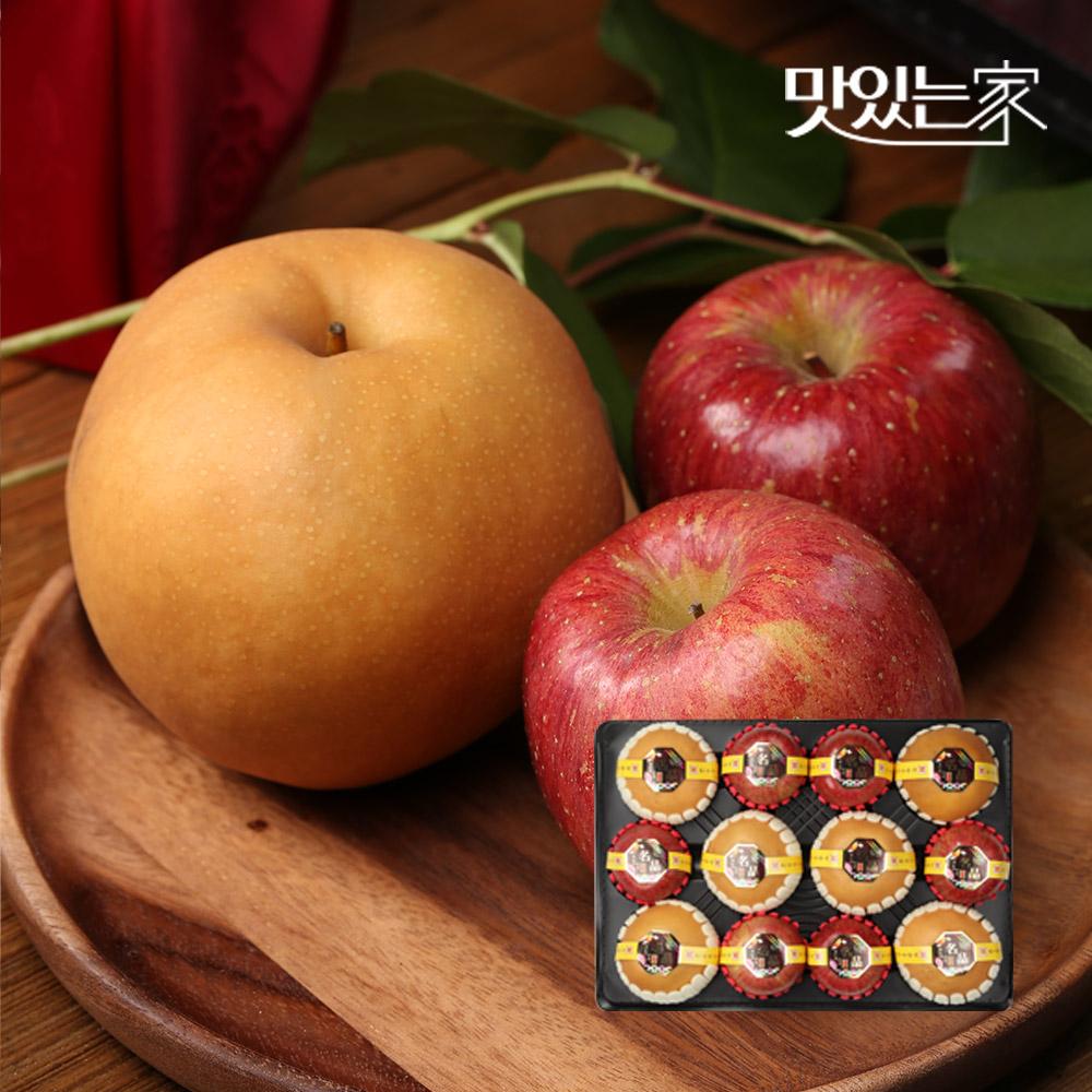 [명품] 사과6과+배6과 최고급 명절 제수용 혼합과일6kg