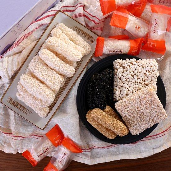 전통의 맛을 그대로 담은 강릉 찹쌀강정 한과